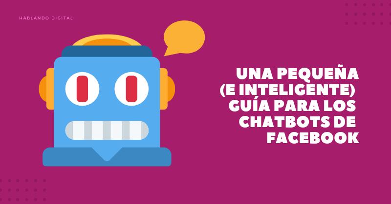 chatbots de facebook