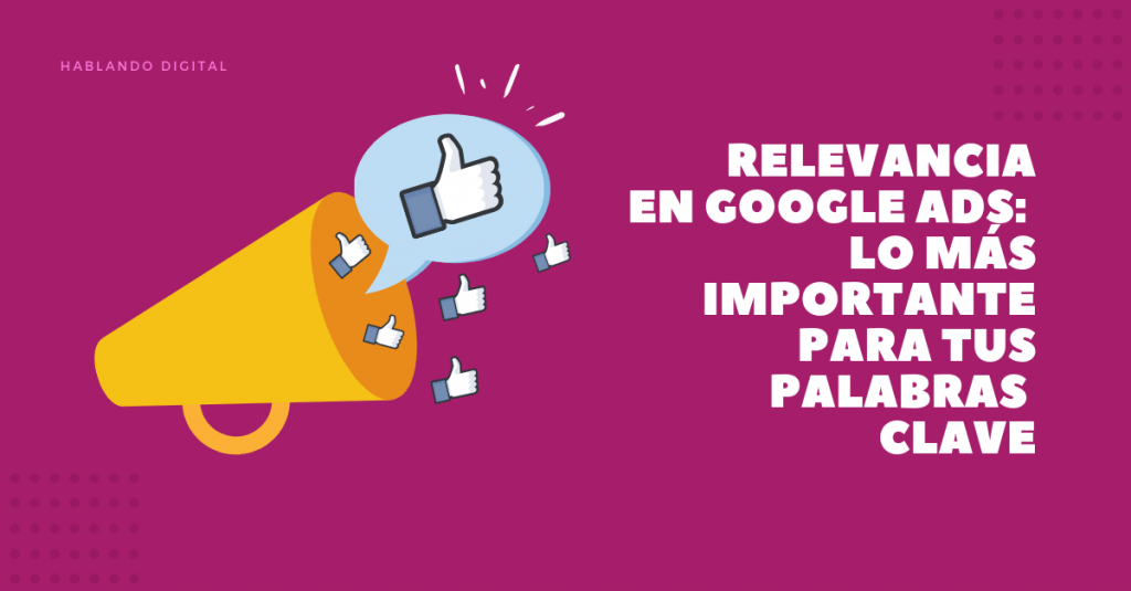 relevancia en google ads