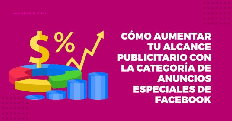 Anuncios Especiales, Categoría, Facebook