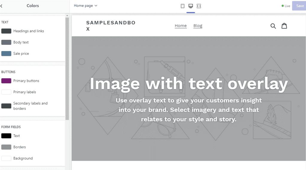 Personalizar temas de tienda de Shopify