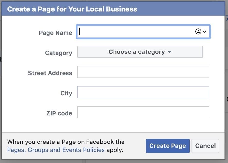 Configurar página profesional desde el administrador comercial de Facebook