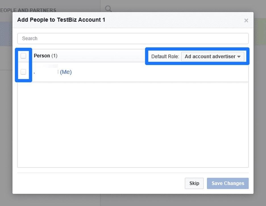 Crear cuenta publicitaria en administrador comercial en Facebook