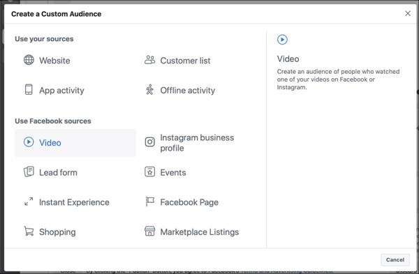 Visualizaciones de video en pixel de facebook